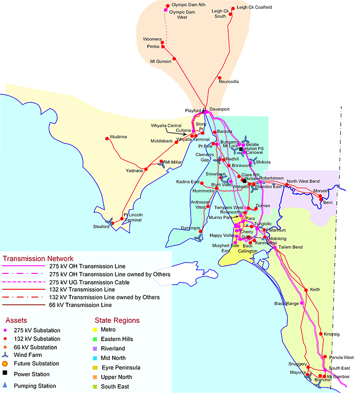 Australia Power Grid Map.Why South Australia Had A Blackout And The Debate We
